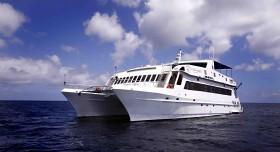 Eco Catamaran Vista Costado Izquierdo